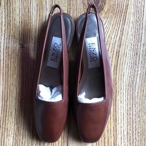 New Enzo Angiolini Leather Flats